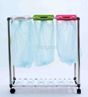Wholesale Professional custom all kinds of garbage frame trolley For household for hospitals
