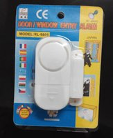 Wholesale Security Alarm system Mini Wireless Magnetic Sensor Door Window Entry Alarm Safety Security Burglar Alarm Bell