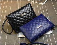 bag shoe compartment - Fashion Elegant Diamond Lattice Ladies Shoulder Bag PU Leather Bag Plain Handle Bag Matching Shoes and Bags Designer Purses Handbags