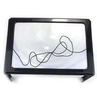 Wholesale Full Page Reading A4 Full Page Large Hands Free Magnifier Magnifying Lens f Reading w Cord