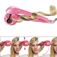 automatic steam iron - Automatic Hair Curler With Steam Spray Hair Care Styling Tools Ceramic Wave Roller Magic Curling Iron Hair Styler Hair Styler Curling Irons