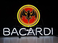 Wholesale NEW Bacardi Distillery Glass Neon Sign Light Beer Bar Pub Sign Arts Crafts Gifts Sign quot