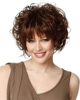 Wholesale Blonde Unicorn Fashion Short Human Hair Wigs Women s Wig Short Curly Wig Human Hair Wig Customized Global
