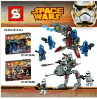 best walking machine - 2pcs SY504 Star Wars Walking Machine KyloRen Piece Minifigures Building Block Minifigure Toys Best Toys Height cm