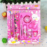 Wholesale Eight sets of children s birthday stationery set stationery
