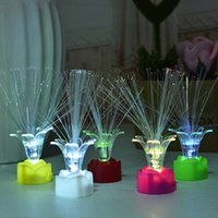 Wholesale 60pcs Children New Fashion Fiber Rose Finger Lamp LED Lamp Toy Ring Light Projection Toy