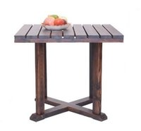Cheap High Quality OutdoorWooden Furniture Square Desk Chinese Style Table Living Room Desk
