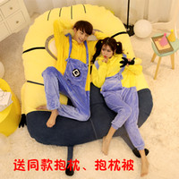bedroom set mattresses - New Arrival Cartoon Minions D Bedding Sets Beanbag Tatami Mattress Bedroom Sofa Supplies For Kids Xmas Birthday and Valentine s Day Gifts