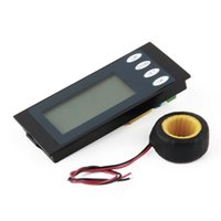 Wholesale 100A AC Digital LED Power Meter Monitor Voltage KWh Watt Voltmeter Ammeter Hot Worldwide