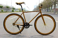 fixed gear - Leopard Dairy Cow Fixed Gear Bicycle Fiets C Fixed Gear Bike Carbon Steel Fixed Gear Bike