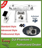 Wholesale DJI Phantom Professional Advanced Stardard Drones Cameras Included K Video Megapixel Photo HD Camera Quadcopter Drone