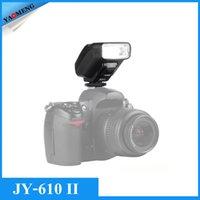 canon camera - New Viltrox JY II Univeral On camera Mini Flash Speedlite for Nikon D3300 D5300 D7100 Canon D Mark II III DSLR Cameras