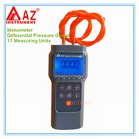 Wholesale High Quality Digital Manometer Differential Pressure Gauge with Measuring Units and Datalogger AZ82062