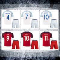 kids jerseys - Whosales Discount EnGlAnds Rooney Kids Soccer Jerseys KANE STERLING VARDY Youth Jersey EURO CUP Shirt Soccer Uniforms kit THAI