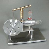 Wholesale NEW COMING SUPER LS002 Enhanced Balance Type Hot Air Stirling Engine DIY Generator Model gift dancer