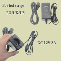 battery cable supplies - Usb Adapter Dc Ac Power Adpater Charger Battery Supply v a Power Charger With Usb Cable For Waterproof Led Strip Eu Au Us Uk Plug DY003