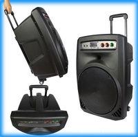 vendors - 2016 hot sales cheaper price inch rod street vendor speaker stereo outdoor mobile battery Bluetooth stereo audio Square Dance