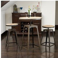 antique wrought iron furniture - American French antique to do the old wrought iron bar stools tall chairs and coffee tables leisure furniture
