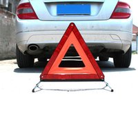 Wholesale Automobile tripod sign frame reflective type reflective parking sign security the stop sign Year of careful will have