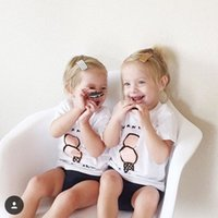 animal ice cream - 2016 pieces Summer Toddler Baby Kids Girls Boys Outfit Ice Cream Clothes Casual T shirt Tops