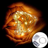 battery operated string lights outdoor - 5M LEDs Timer Function Silver Wire Outdoor LED Fairy String Lights AA Battery Operated LED Fairy Light with Modes Remote Controller