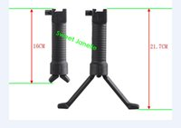Wholesale Spring loaded mm Rail Tactical RIS Foregrip Bipod Black