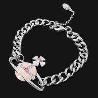asian wedges - 2016 new of Peking China bracelet lt lt Silver Pink Saturn wedge angle bracelet VB32013982 same paragraph Empress Dowager Hsu