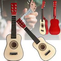 Wholesale Red quot Beginners Practice Acoustic Guitar String For Children Kids