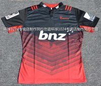 heat transfers - Rugby League New Zealand Super Rugby Union Crusaders High temperature heat transfer printing jersey Rugby Shirts