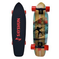 Wholesale SAYSHUN quot Cruiser Board Maple Complete Skateboard Board Skateboarding For All Skill Levels