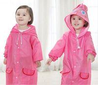 Wholesale Poncho New Waterproof Kids Rain Coat For children Raincoat Rainwear Rainsuit Kids boy girl Animal Style Raincoat