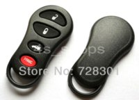 Wholesale 3pcs No Chip Remote Key Shell Case For Chrysler M Concorde Sebring Dodge Stratus Intrepid Jeep Liberty With Buttons M39161 car
