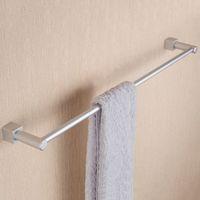 Wholesale Hot Sales Space Aluminium Bathroom Holder Towel Rack Towel Holder Bath Products Bathroom Accessories Towel Bars JI0166