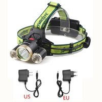 battery charger suits - 8000 Lumens CREE T6 XPE LED Modes Zoomable Headlamp Headlight Light Suit for Li Battery EU US Charger