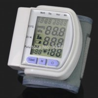 armed monitoring device - 2014 Promotion PC Top Quality Home Automatic Digital Arm Blood Pressure Monitor With LCD Display amp Heart Beat Meter Device JK1