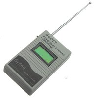 Wholesale New GY560 Frequency Counter Mini Handhold Meter for Two Way Radio Transceiver GSM MHz GHz LCD Display Ce Certificated
