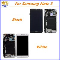 Wholesale New For Samsung Galaxy Note3 N900 Lcd Display touch screen digitizer Replacement Repair Parts With Full Assembly