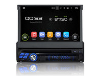 Wholesale 7 Quad Core Android Car DVD Radio For Universal With Multimedia Stereo GPS Map Wifi BT Camera Support G DVR