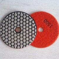 Wholesale Diamond resin dry polishing pads for concrete stone