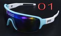 al por mayor sunglasses bike-Hacer las medias lentes de la bicicleta de la lámina polarizó la lente al aire libre de Sunglass 3 de las gafas del bici velo de la bici del camino MTB del deporte de las mujeres de los hombres de la lente