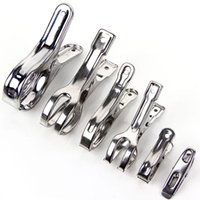 Wholesale Stainless steel clip sizes cotton quilt clamp clamp clothespin clothes open clamp for Home Furnishing to clamp clothes covers
