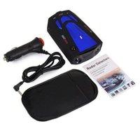 Wholesale Blue Car Anti Police GPS Radar Detector Band X K NK Ku Ka Laser VG V7 LED