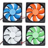 Wholesale 12cm fan host computer chassis cooling fan pow