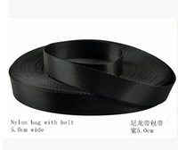 Wholesale High grade encryption nylon belt package with belt fine lines with dedicated band width CM Black