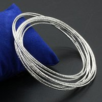 american trade products - Shanghai sweetheart silver bracelet outer fine grind arenaceous cardano s rings bracelets Foreign trade goods products