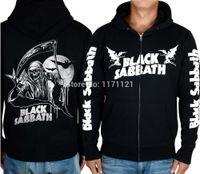band hoodie - BLACK SABBATH LINE UP MUSIC HOODIE Band World Tour heavy metal CLASSIC METAL black cotton hoodie