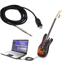 best usb guitar - Best Selling High Quality Guitar Bass mm To USB Link Connection Instrument Cable Adapter for PC MAC Recording M