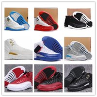 badminton games - High Quality Retro Men Basketball Shoes s OVO White s Gym Red Gamma Blue Wolf Grey Flu Game Sports Shoes With Box
