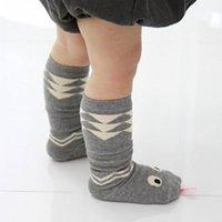 al por mayor bebé serpiente año-2016 calcetines del cabrito para 1-3 años de edad bebé Interesante serpiente linda niños Medio corto calcetín * 10