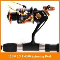 Wholesale HOT SALE Spinning reel fishing reel YA2000 YA5000 BB spinning reel casting fishing reel lure tackle line